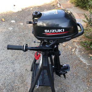 2018 suzuki 2.5 HP, 4 stroke, short shaft for Sale in Orange, CA