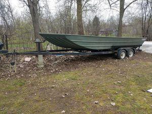 24 foot allweld John boat for Sale in Lombard, IL