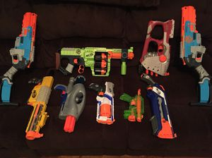 Nerf guns with lots of ammo for Sale in Harrisonburg, VA