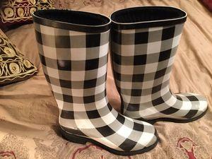 Rain boots size 7.5 for Sale in Arlington, VA
