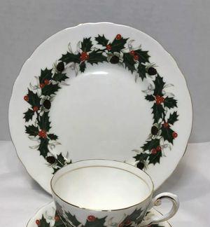Elegant & rare Royal Chelsea Christmas bone China for Sale in Coraopolis, PA