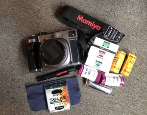 Mamiya 7 + 80mm f4 + Extras for Sale in Portland, OR