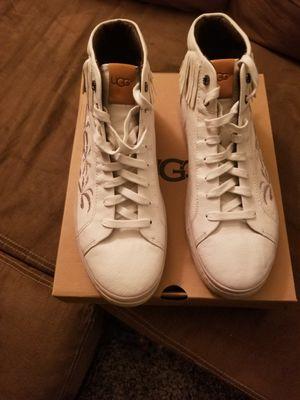 UGG Australia Men's Cali High Fringe Palm Leather Sneakers for Sale in Parlin, NJ