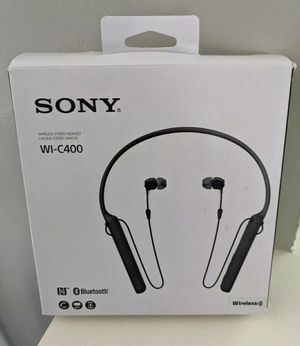Sony Bluetooth Headset New for Sale in Clarksburg, MD