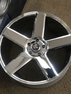 "Chrome dub baller 5x127 22"" new rims for Sale in Las Vegas, NV"