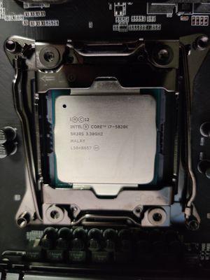Intel Core i7-5820K 3.3GHz 6-Core/12 Thread LGA 2011-v3 Desktop Processor + Gigabyte GA-X99-UD5 Wifi ATX Motherboard for Sale in Brooklyn, NY