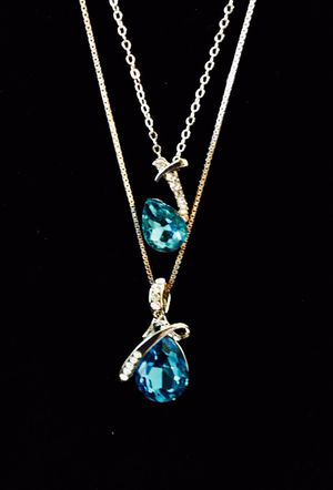 Great gift!!! Brand New Blue Topaz Crystal Set for Sale in Philadelphia, PA