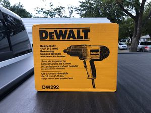 Dewalt electric 1/2 inch drive Impact for Sale in Grand Prairie, TX