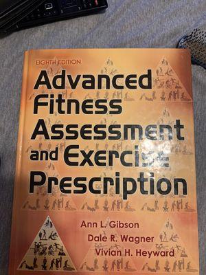 Advanced fitness assessment and exercise prescription for Sale in Wayne, NE