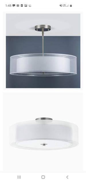 Semi flush light for Sale in Santa Maria, CA
