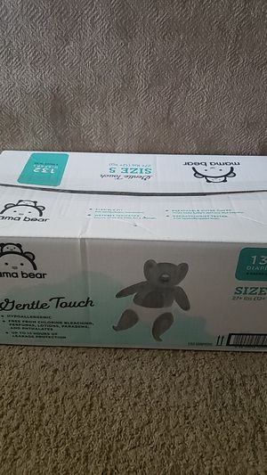 Diapers size 5 for Sale in Alexandria, VA