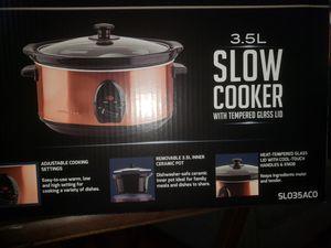 SLOW COOKER COPPER CROCK POT for Sale in Los Angeles, CA