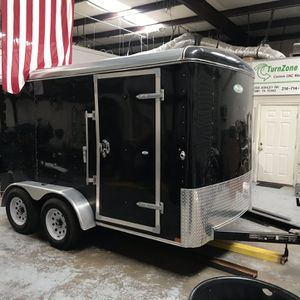 12' BLACK ENCLOSED TRAILER, TITLE IN HAND for Sale in Forney, TX