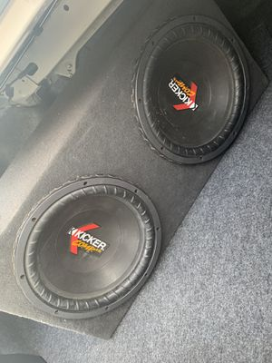 Kicker subwoofers for Sale in Westminster, CA