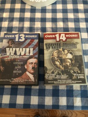 World war II Movie Classics combined 27 hours for Sale in Prince George, VA
