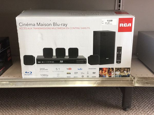 RCA BlueRay Home Theater