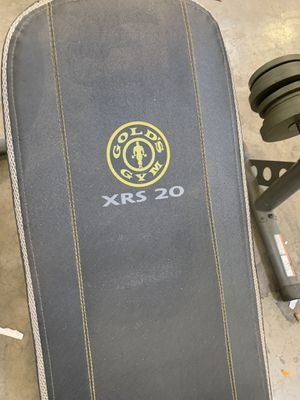 Weight bench set and weights for Sale in Murfreesboro, TN
