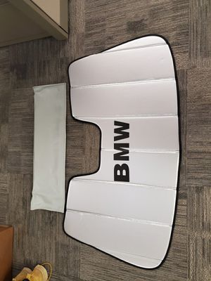 Original BMW 3 and 4 series windshield shade sun protector OEM. for Sale in Austin, TX