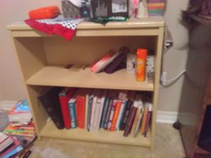 Baige bookshelve for Sale in Chalmette, LA
