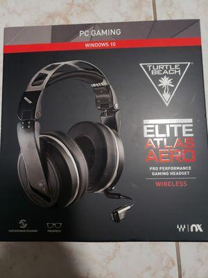Wireless - Turtle Beach Elite Atlas Aero Gaming Headset for Sale in Houston, TX