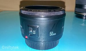 Canon EF 50mm f/1.8 II STM Standard Prime Lens for DSLR Cameras for Sale in Mount Rainier, MD