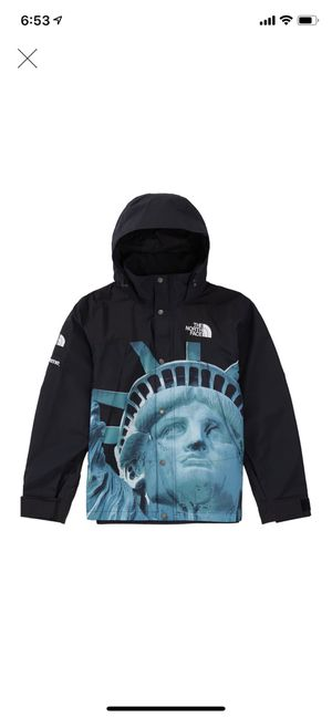 Supreme North Face Statue of Liberty Mountain Jacket Black Medium for Sale in Seattle, WA