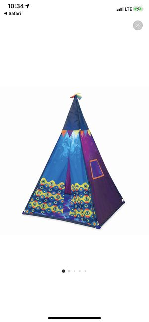 B toys kids tent for Sale in Norfolk, VA