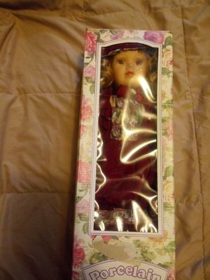 Beautiful porcelain antique doll for Sale in Pittsburgh, PA