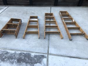 Wood ladders for Sale in San Francisco, CA