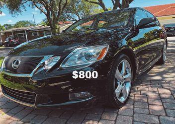 2010 Lexus GS Sedan miles <Low miles>Price $8OO for Sale in Boise,  ID