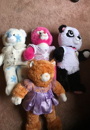 Lot Of build a bear stuffed toys. for Sale in San Diego, CA