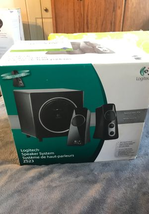 Logitech speaker system Z523 for Sale in Gainesville, FL