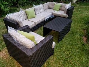 Outdoor patio furniture sectionals for Sale in Marietta, GA