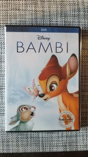 Walt Disney's Bambi DVD for Sale in Tacoma, WA