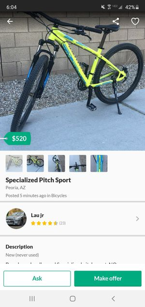 Do not buy from him-Specialized mountian bike for Sale in Avondale, AZ