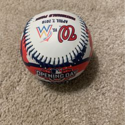 NATS 2016 OPENING DAY BALL for Sale in McLean,  VA