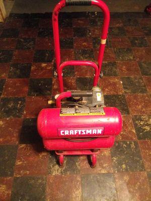 Craftsman air compressor for Sale in Detroit, MI