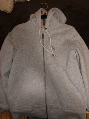 Burberry Zip Up Hoodie for Sale in Santa Monica, CA