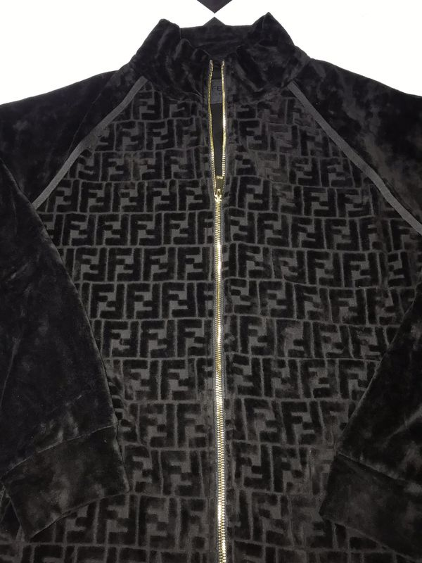 Fendi Jacket Black Size Large Brand New In Hand Never Worn Jordan