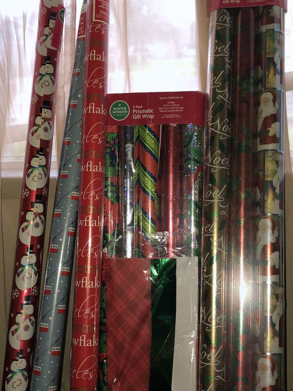Christmas wraping paper