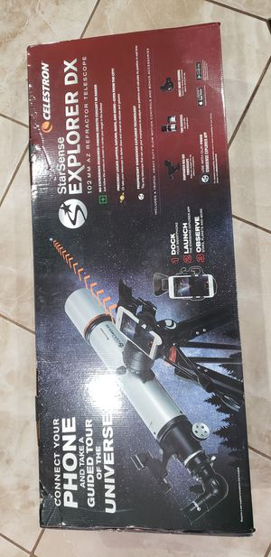 Telescopio EXPLORER DX StarSense vendo o cambio por bicicleta de carrera del mismo valor o con diferencias for Sale in Los Angeles, CA