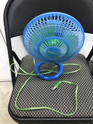 small mini electric fan portable for desk or room for Sale in Sacramento, CA