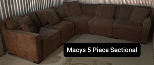Used Macys 5 Piece Sectional Sofa and Raymour & Flanigan Furniture for Sale in Hawthorne, NJ
