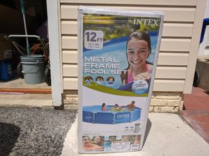 New Intex 12ft x 30in Metal Active Frame Pool for Sale in Laurel, MD