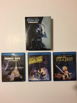 Family Guy Star Wars Trilogy Blu Ray for Sale in Hilliard, OH