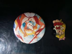 Vintage Sailor Moon Pins from 1990s for Sale in Coram, NY