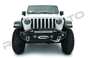 "2018-UP Jeep Wrangler JL/JT ""Falcon I"" Front Bumper w/ 21.5"" Led Light Bar with 3"" Cube light Pods for Sale in Ontario, CA"