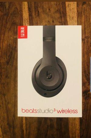 Beats Studio3 Wireless Matte Black for Sale in Fremont, CA