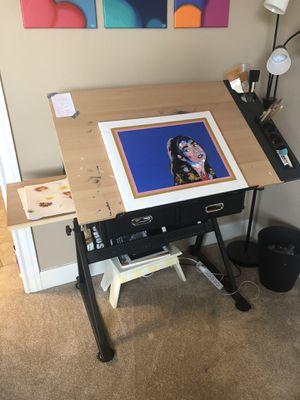 Adjustable Artists Desk for Sale in San Antonio, TX