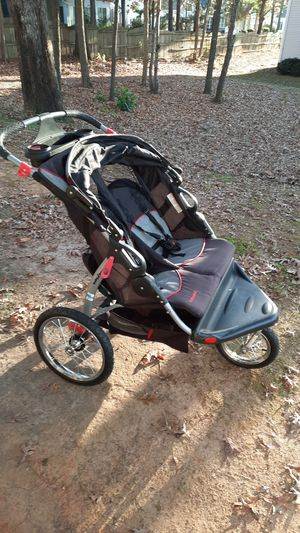 Baby Trend Expedition Double Jogger Stroller, Carbon ... for Sale in Taylors, SC